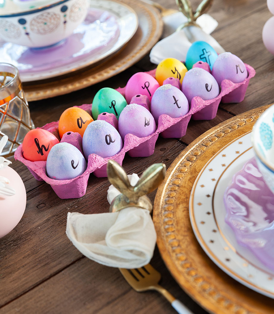How to make an adorable Easter centerpiece.