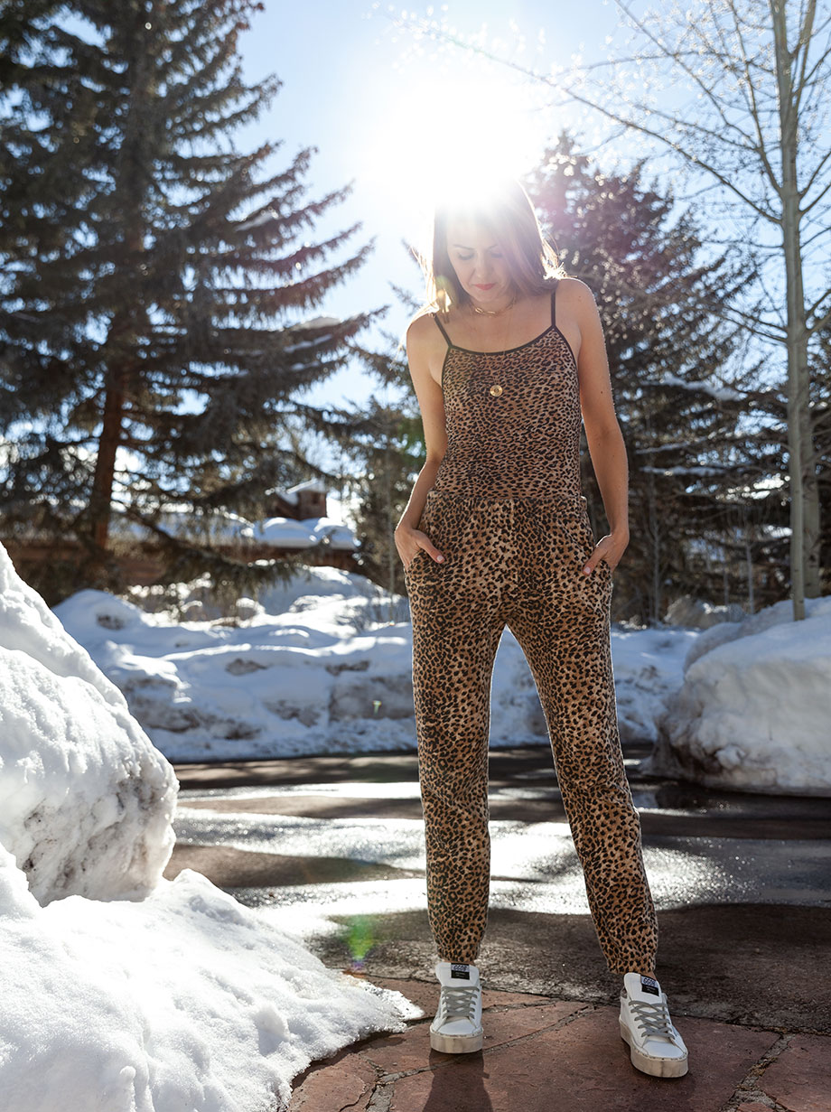Corri McFadden shows readers where to find the best sweatsuits.