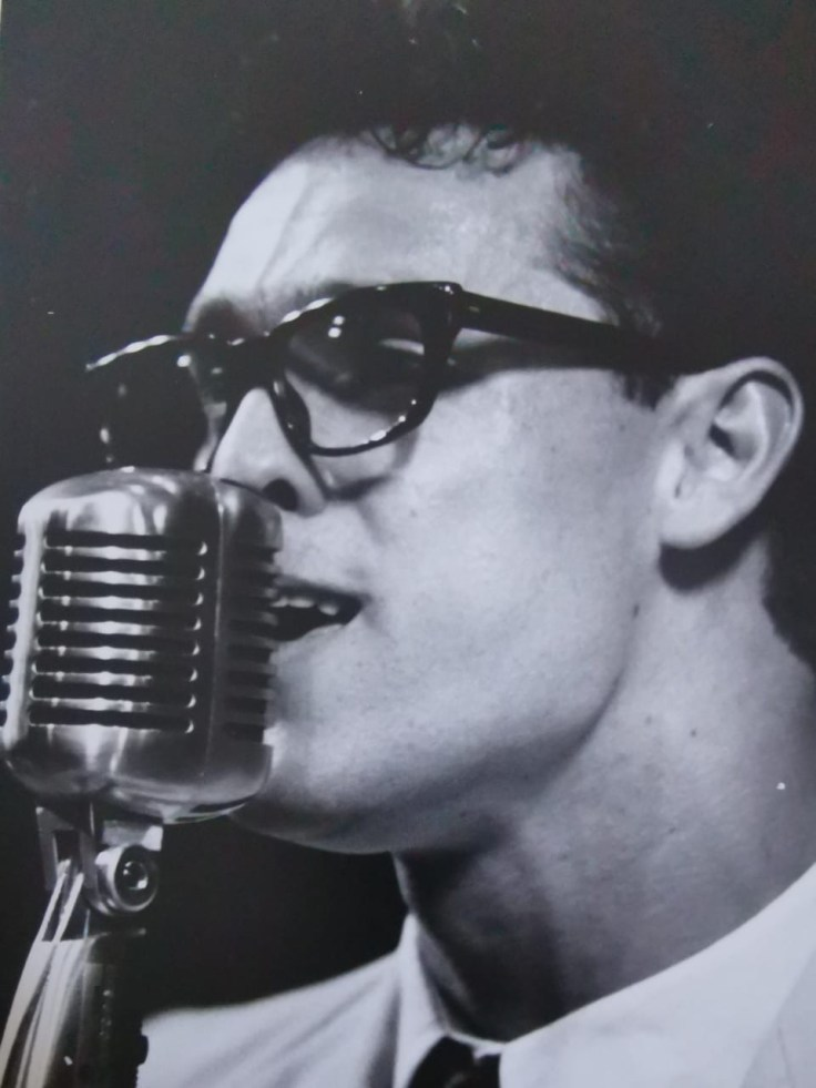 Craig as Buddy Holly in Buddy - The Buddy Holly Story orignal SA cast of 1993