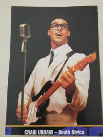 Craig Urbani as Buddy Holly