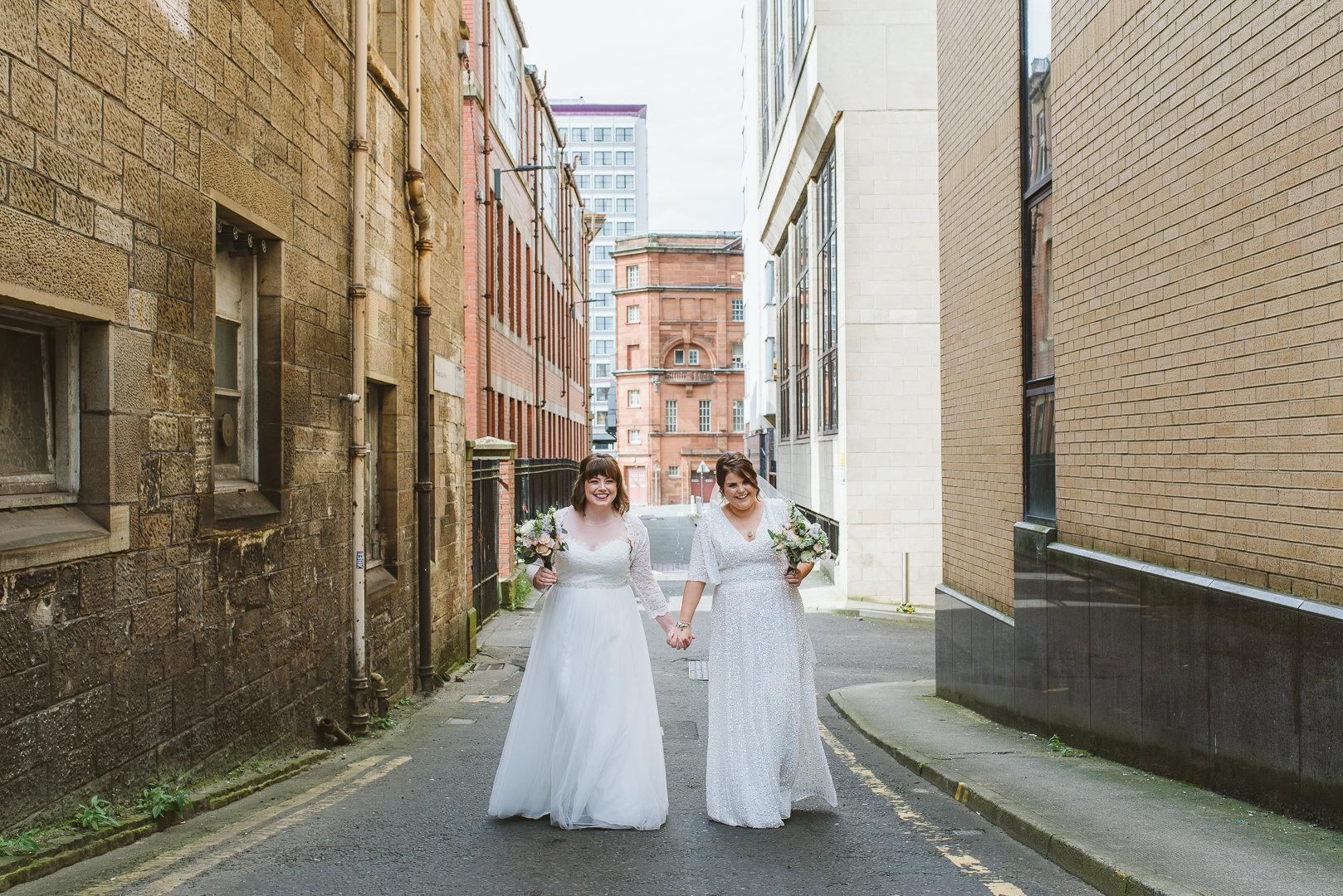 Same Sex Wedding Glasgow - From my best wedding photos from 2019