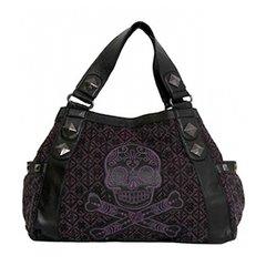 Loungefly Purple Sugar Skull Bag