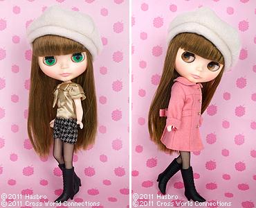 Blythe Doll – Raspberry Sorbet