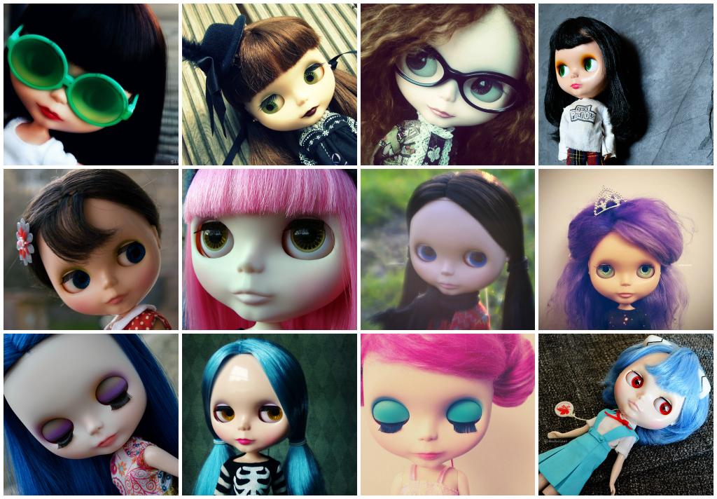 My Blythe Dolls - 2015
