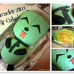 Invader Zim – Gir Birthday Cake