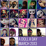 A Doll A Day 2013 – March