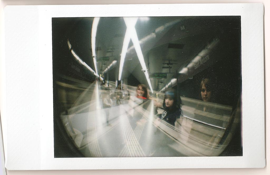 Catherine & Me - Underground Multiple Exposure