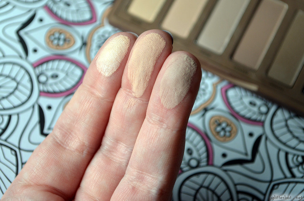 Urban Decay Naked 2 Basics Palette Swatch