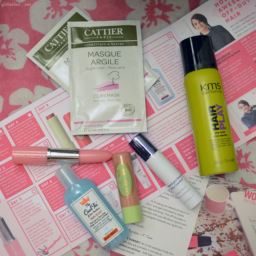 Birchbox UK October 2014 - Work It with CoppaFeel