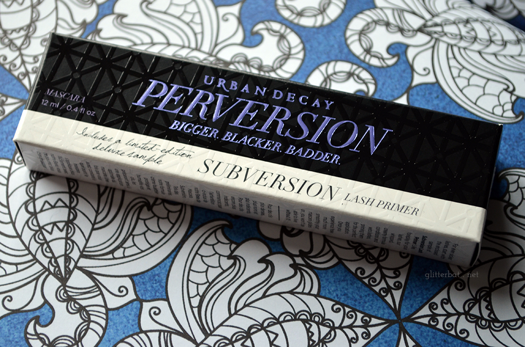 Urban Decay – Perversion Mascara & Subversion Primer Review