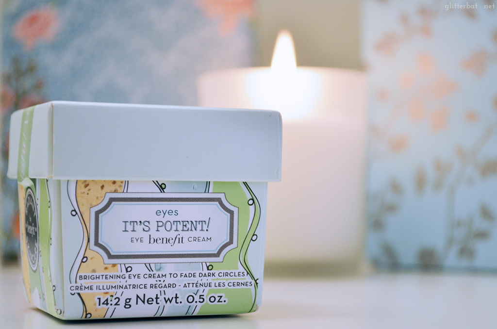 Benefit – It's Potent! Eye Cream Review
