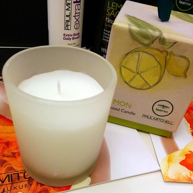 Paul Mitchell Lemon Candle