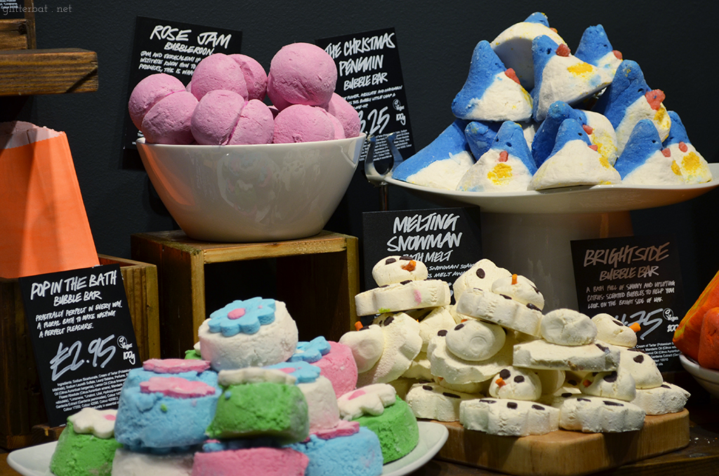 Lush Bubble Bars