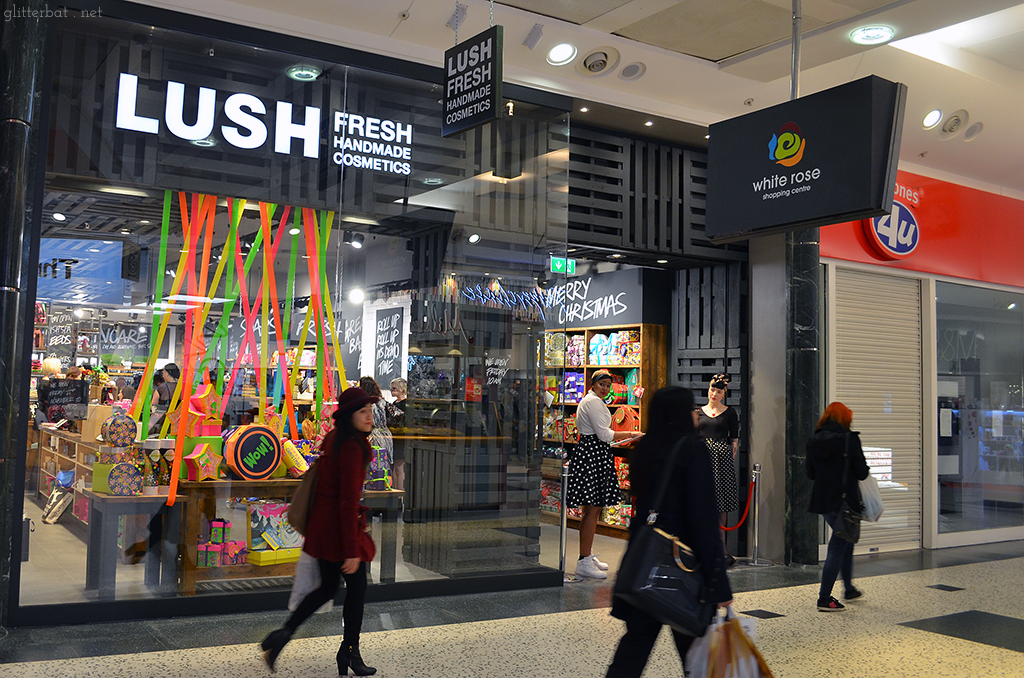 Lush White Rose Centre Opening Party