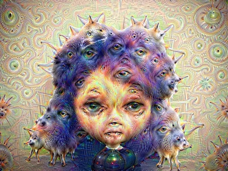 Google Deep Dream & Dolls…