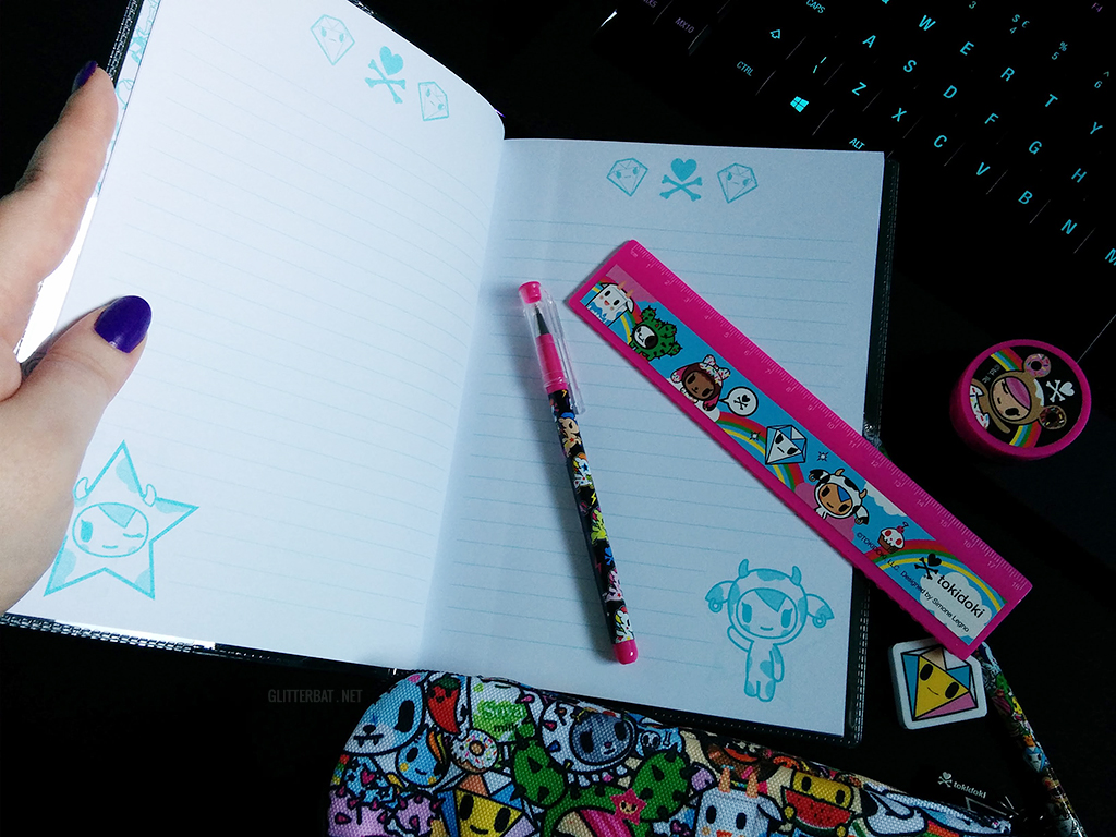 tokidoki Notebook - Primark Haul