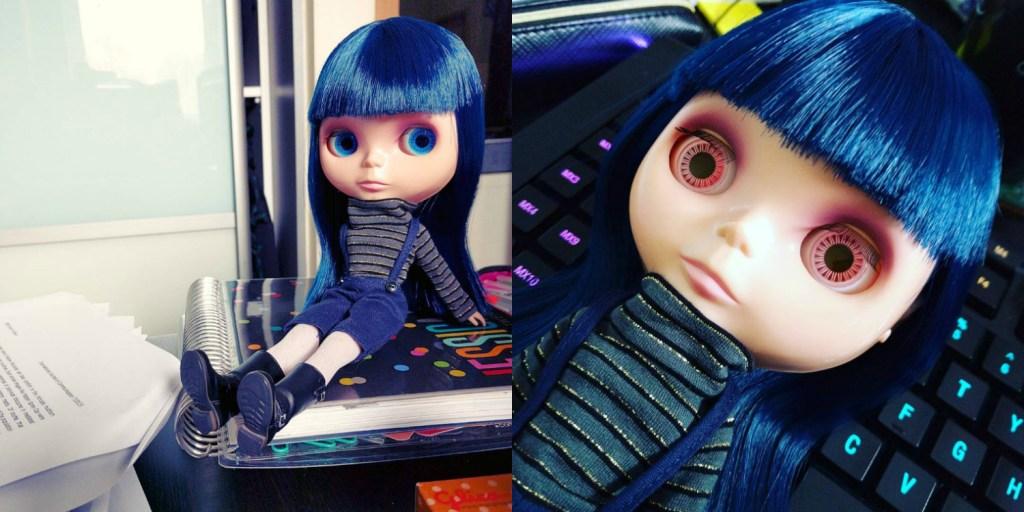 Blythe Doll Asian Butterfly EBL