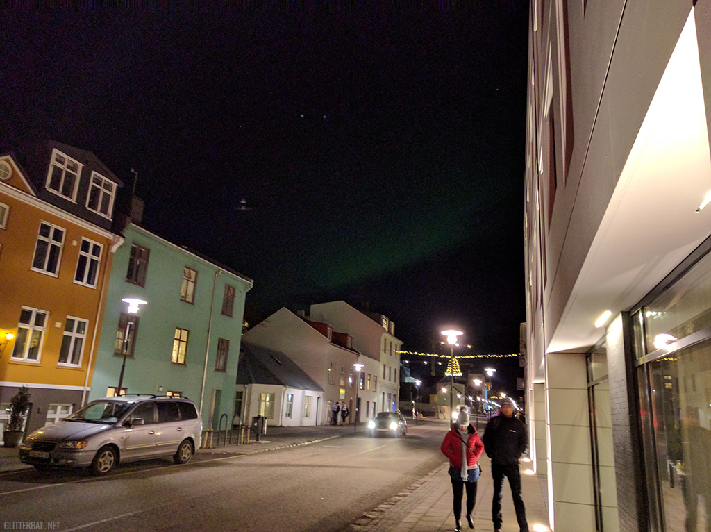 Northern Lights - Reykjavik