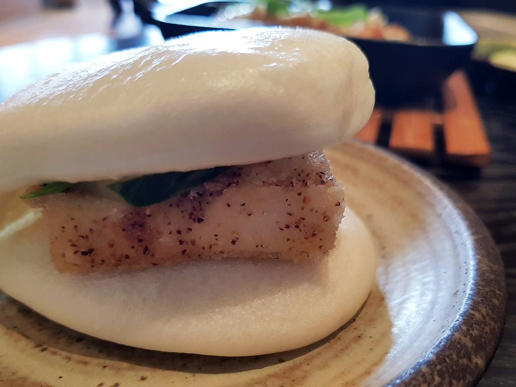 Issho Leeds - Spicy Tofu Bao