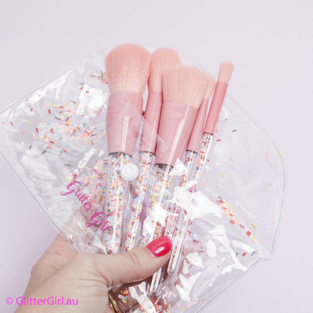 Glitter Girl Sprinkle Makeup Brush Set