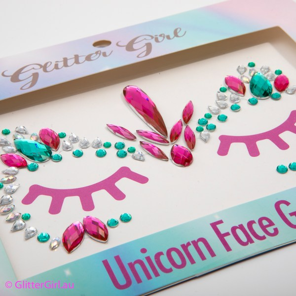 Unicorn Face Gems Unicorn Power