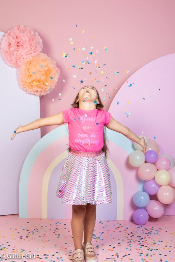 sequinned Skirt Lollipop
