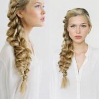 Romantic Side Braid Hair Tutorial Wedding Hairstyles For ...
