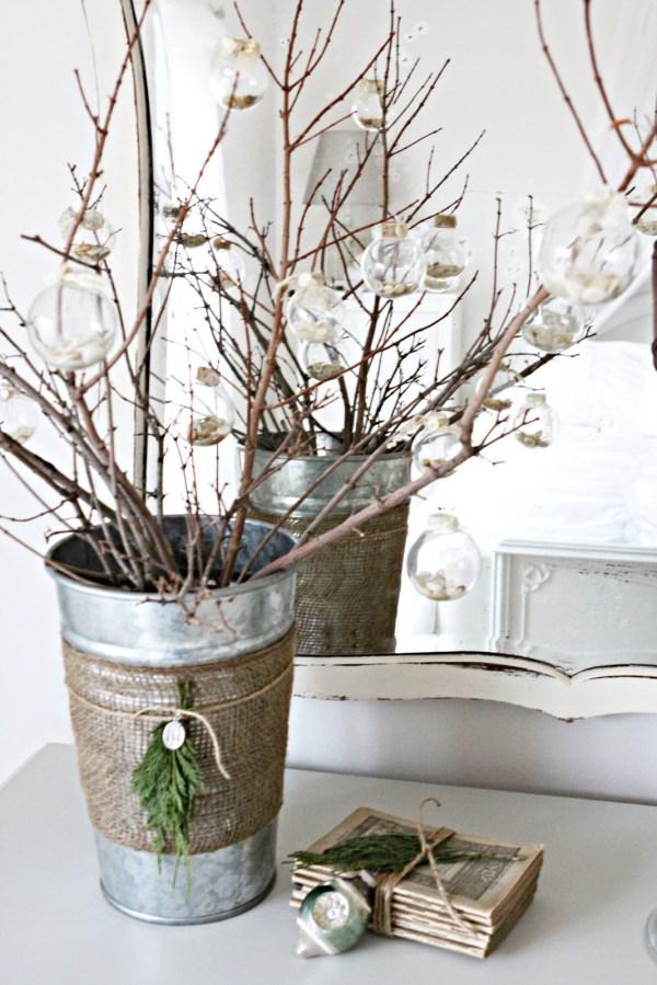 Burlap Christmas Decorating Ideas