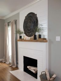 Get Inspired: The DIY White Brick Fireplace | Glitter, Inc.