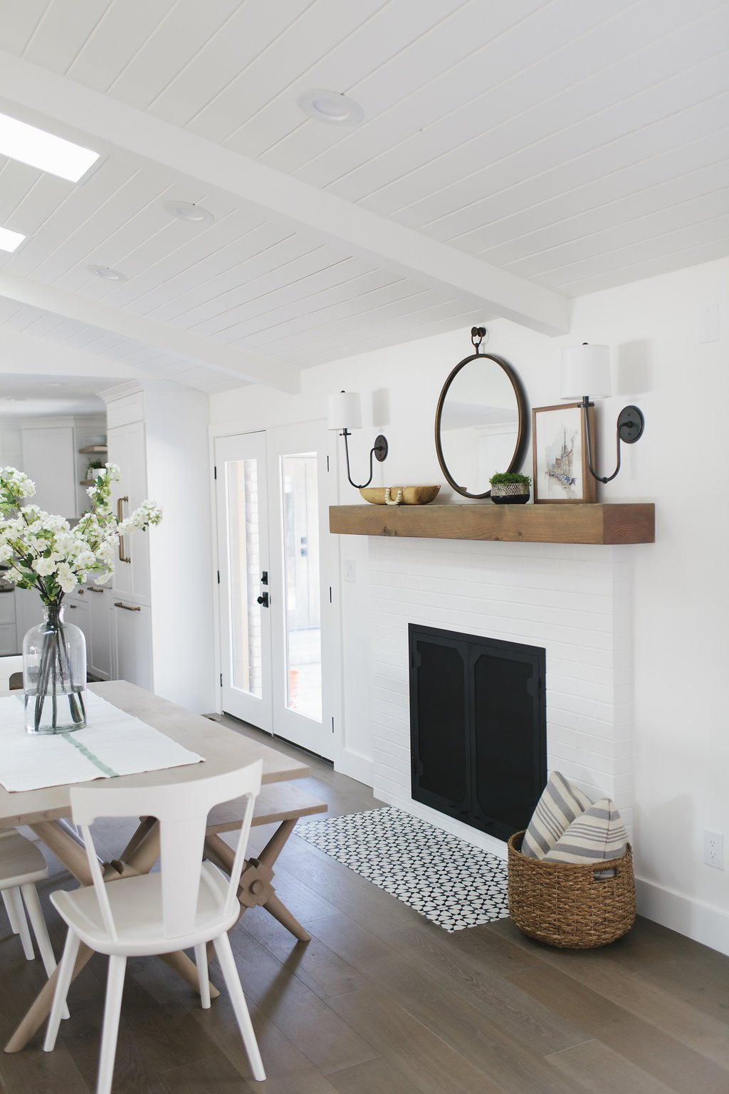 Painting Brick Fireplace Young House Love