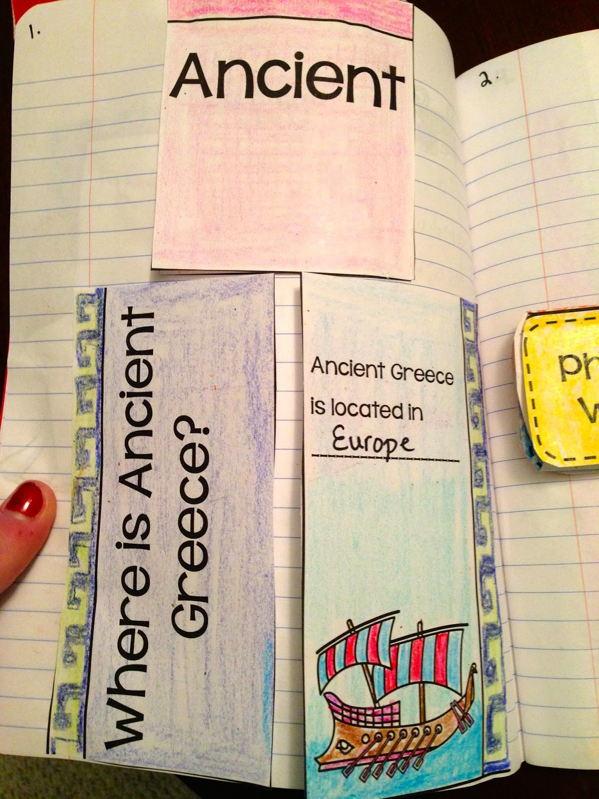hight resolution of Ideas for teaching Ancient Greece in third-grade - Glitter in Third