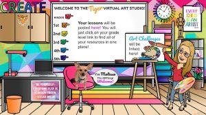 bitmoji classroom virtual class google teacher bit awesome teaching tracy evans credit