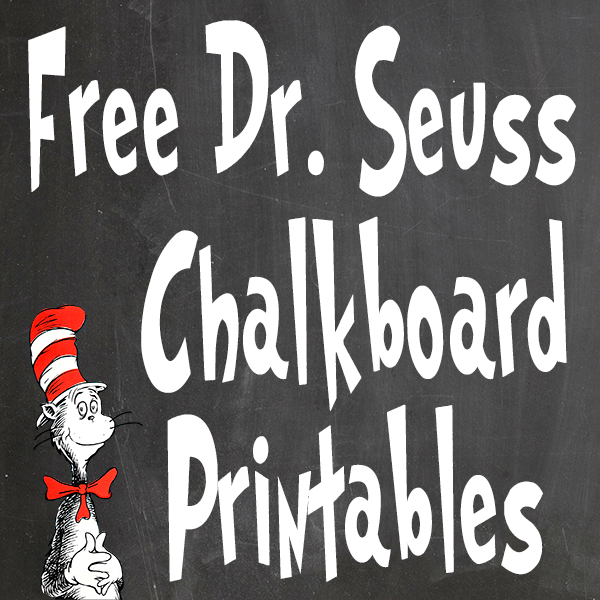 Free Dr Seuss Printables For Decorating A Classroom Or Nursery Glitter N Spice