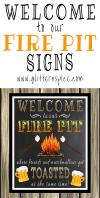 Fire Pit Signs | Outdoor Goods
