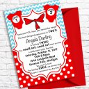 Printable Dr. Seuss Baby Shower Invitations For One Baby or Twins