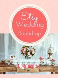 Etsy wedding products