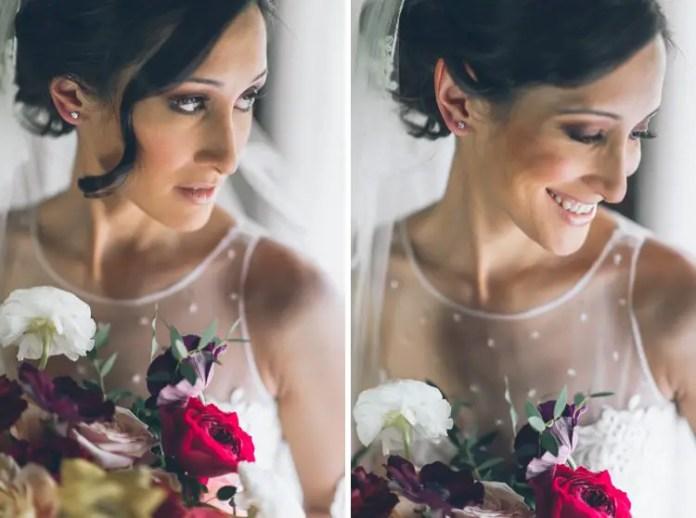 fall bride flowers