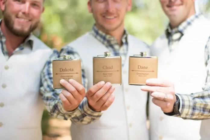 groomsmen flask gifts