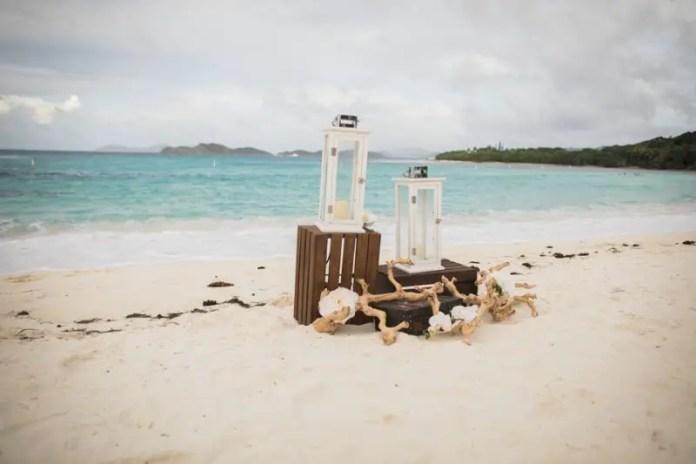 sunset grill beach wedding st thomas