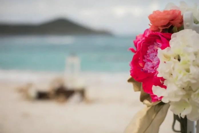 st thomas beach wedding