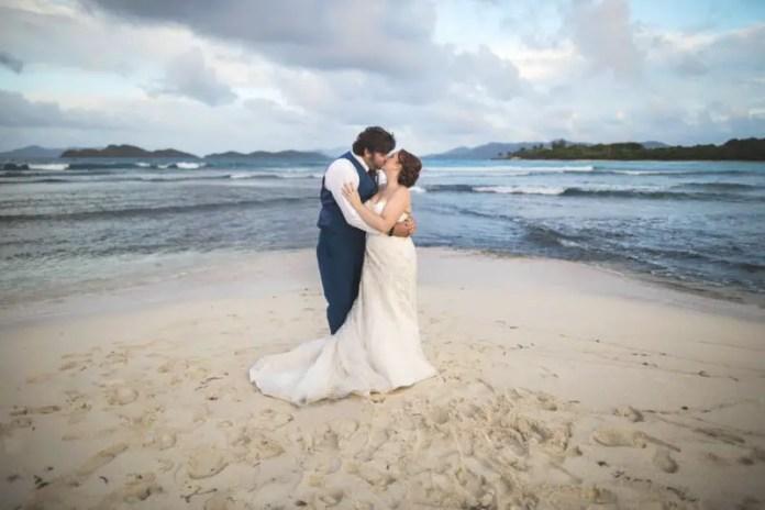 st thomas lindquist beach wedding