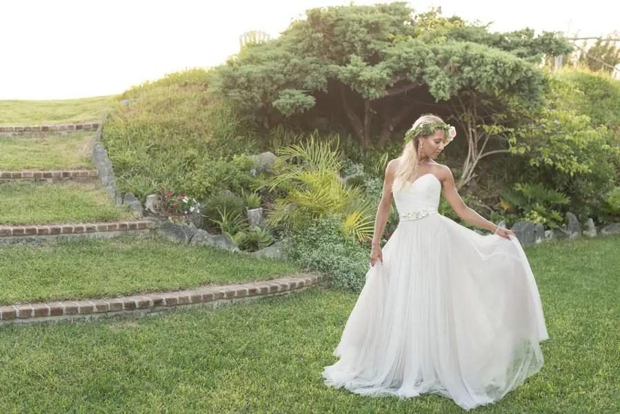 Beautiful Bridal Portrait in Bermuda