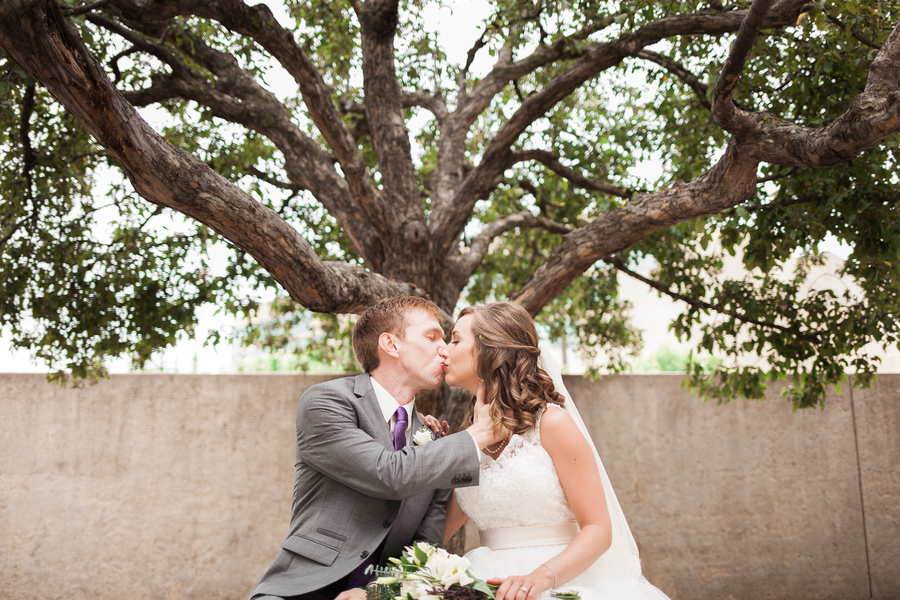 Grey and Purple Wedding in Chez Hay, Nebraska