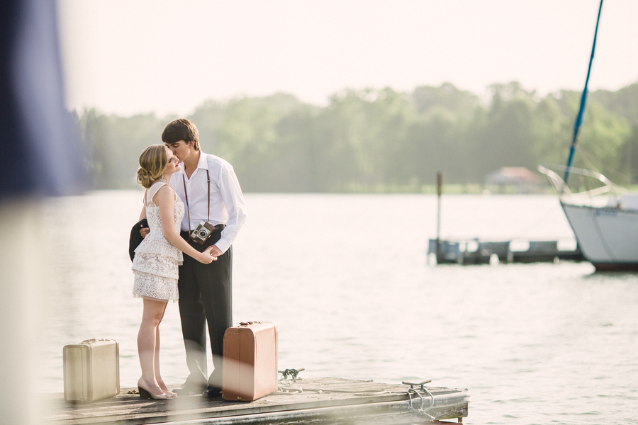 Nautical Elopement Styled Session in Tennessee