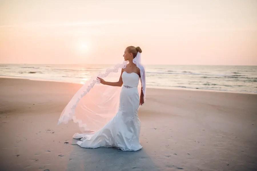 North Carolina Beach Styled Bridal Portrait