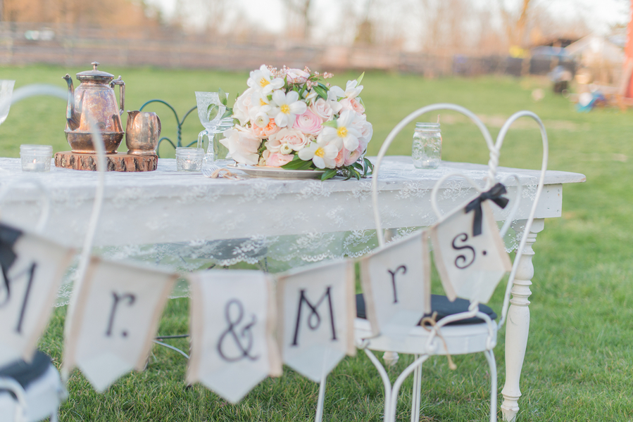 Sweet Outdoor Wedding At Rocklands Farm In Maryland