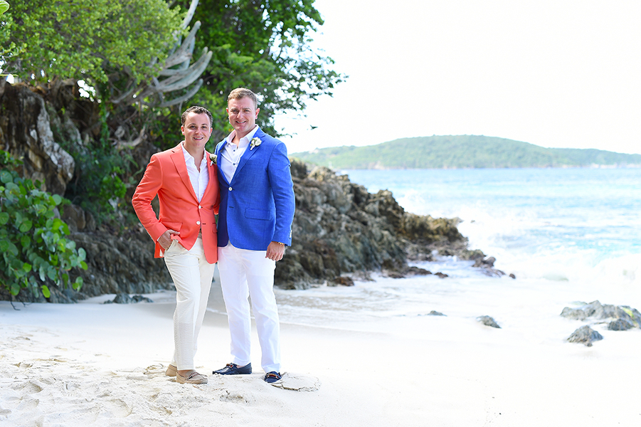 Amazing Caribbean Wedding At Caneel Bay Resort