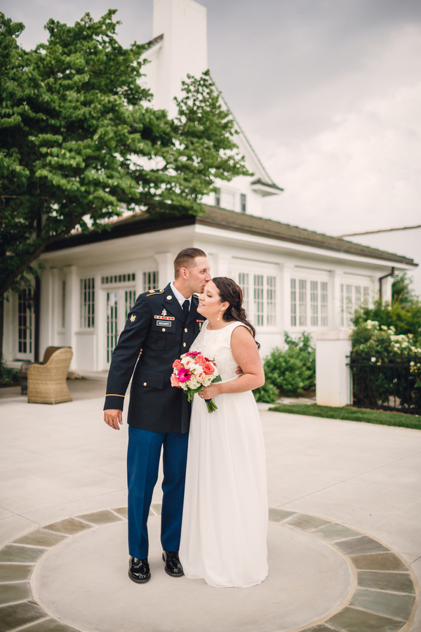 Sweet Wedding at the Spring House in North Carolina