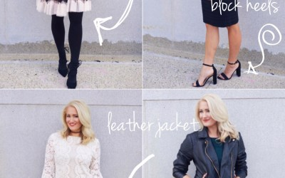 HOW TO WEAR LACE THIS FALL