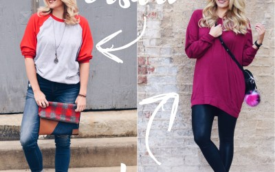 SLOUCHY TUNIC TWO WAYS